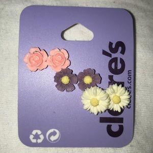 Flower Earring Sets